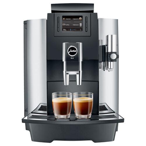 Jura-WE8 Chrome Coffee Machine